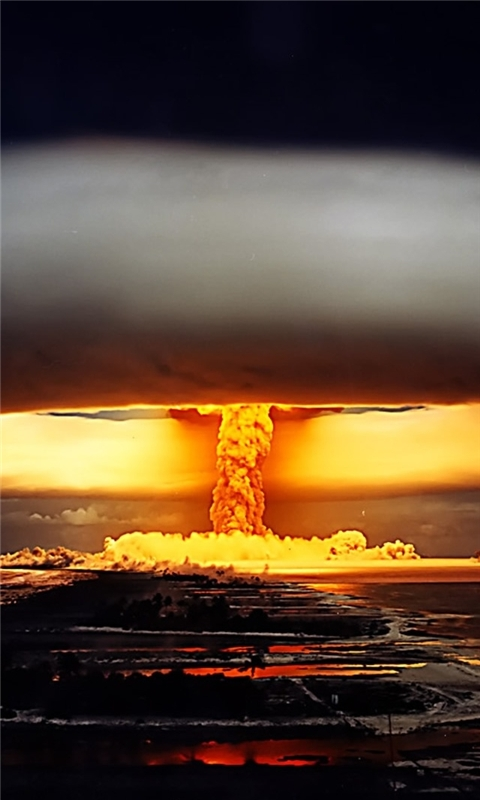 Nuclear Explosion Windows Phone Wallpaper