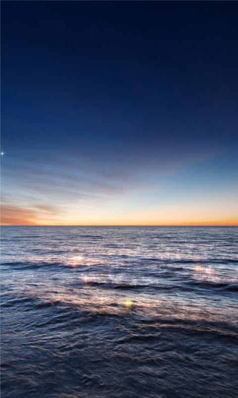 Magical twilight Windows Phone Wallpaper