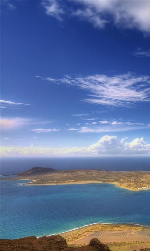 Beautiful Island Windows Phone Wallpaper