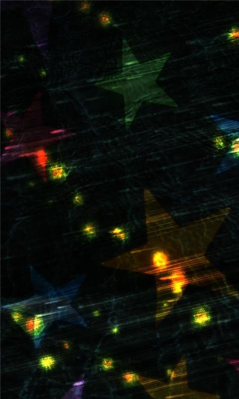 Colorful Stars Windows Phone Wallpaper