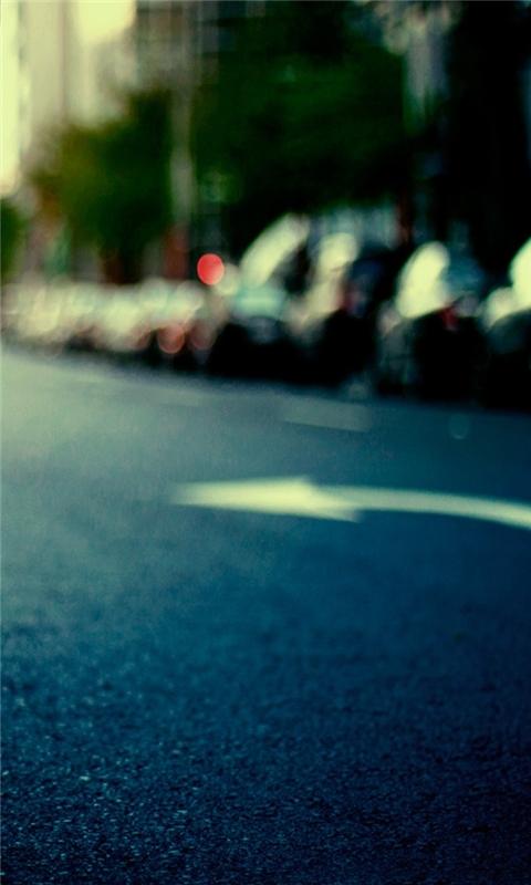 Asphalt road Windows Phone Wallpaper