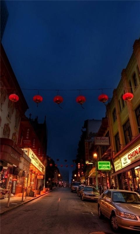 China town Windows Phone Wallpaper