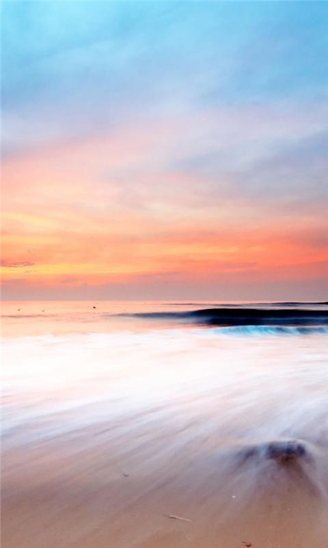 Beach Scenery Windows Phone Wallpaper