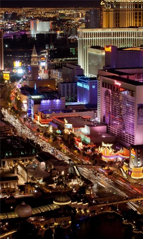 Las Vegas Strip Windows Phone Wallpaper