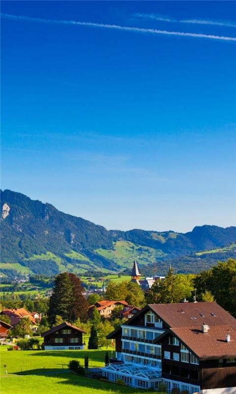 Swiss Alps Windows Phone Wallpaper