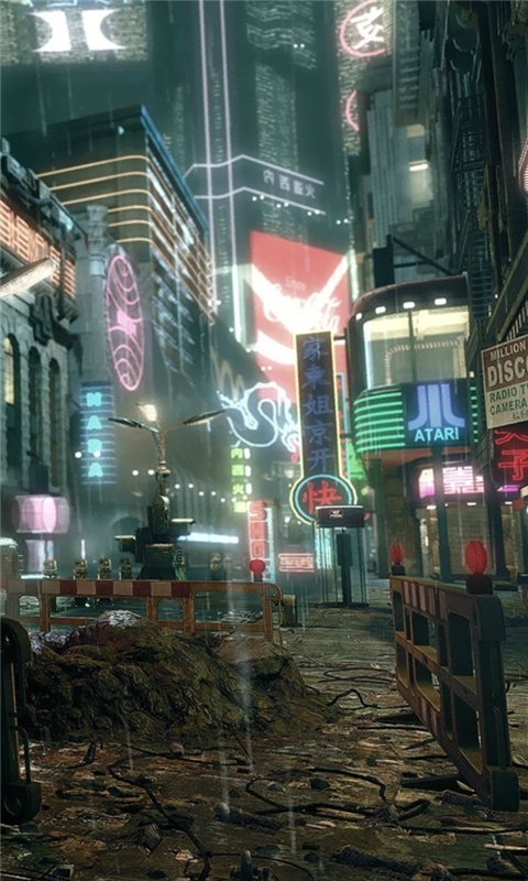 Blade Runner 2 The Edge Of Human Windows Phone Wallpaper