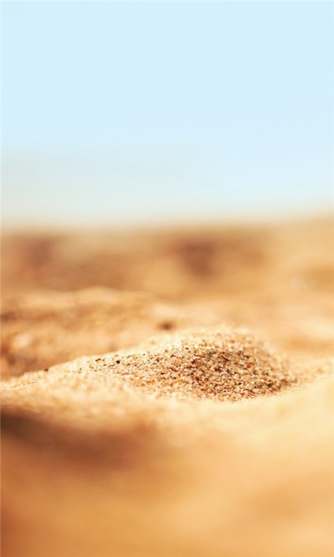 Sand Macro Windows Phone Wallpaper