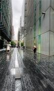 London Street Rainy Weather