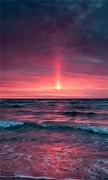 Pinkish sunset