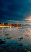 Lake Sunset Landscape