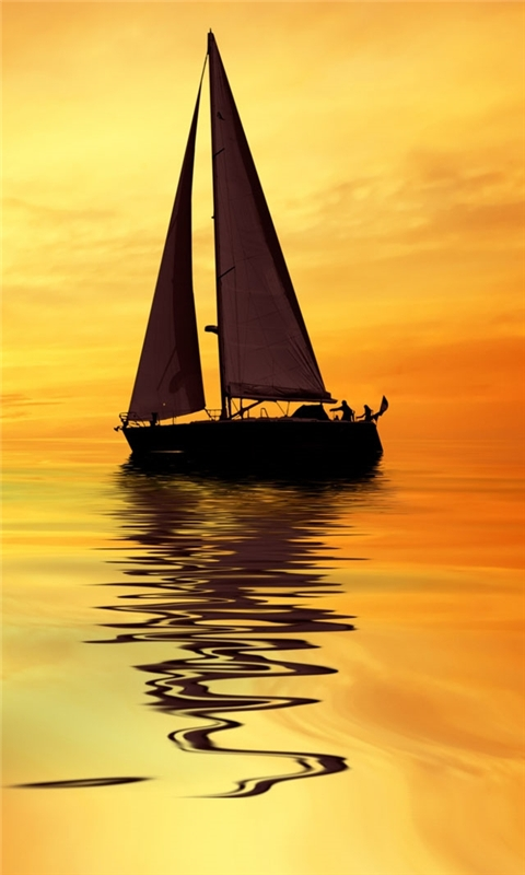 Sail boat Windows Phone Wallpaper