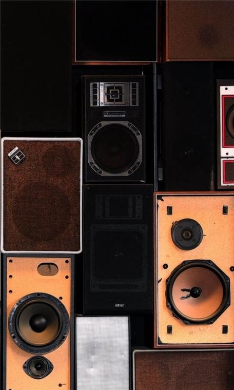 Speakers 2 Windows Phone Wallpaper