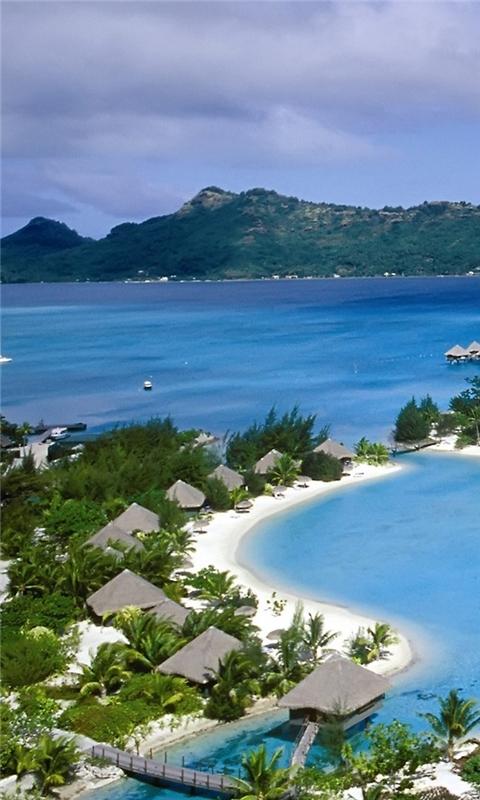 Polynesia Beach Windows Phone Wallpaper