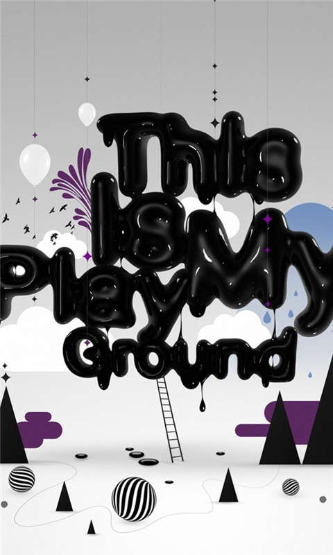 Abstract Playground Windows Phone Wallpaper