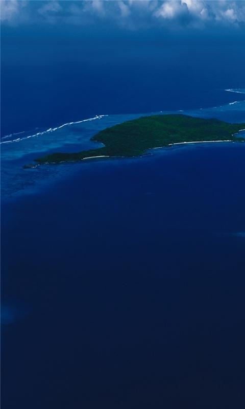 Caribbean islands Windows Phone Wallpaper