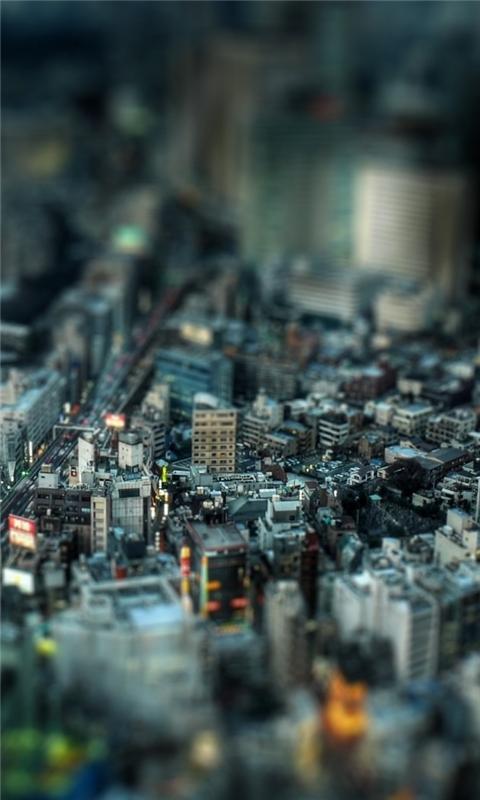 Miniature City 2 Windows Phone Wallpaper