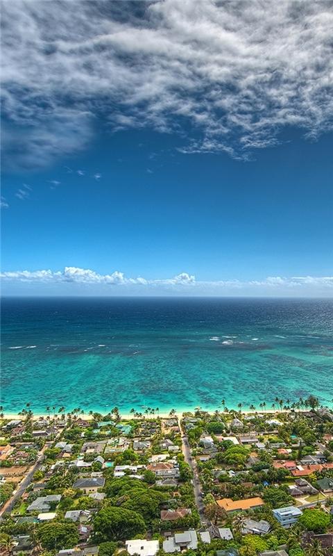 Beach Kailua Windows Phone Wallpaper