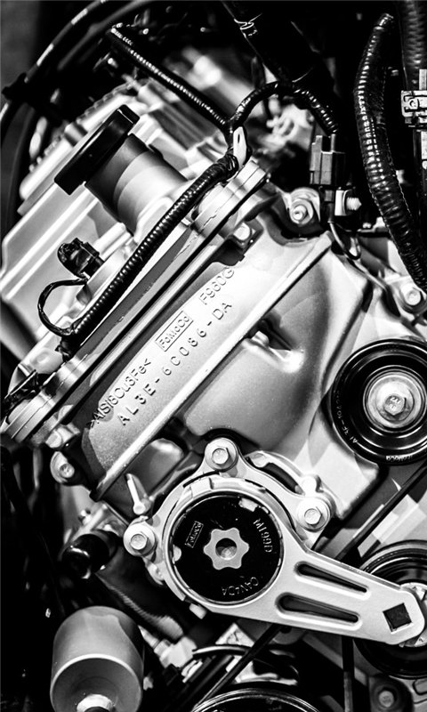 Big Block Engine Windows Phone Wallpaper