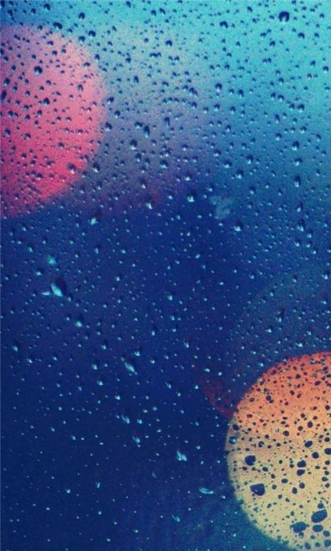 Wet Glass 2 Windows Phone Wallpaper