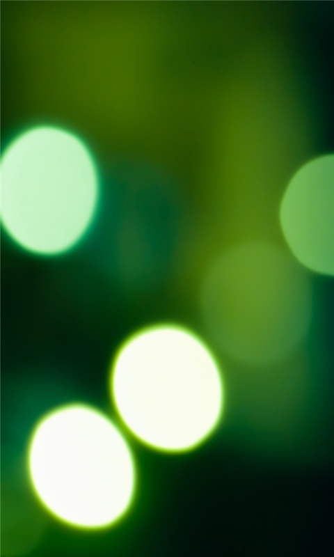 Aero Dark Green Lights Windows Phone Wallpaper