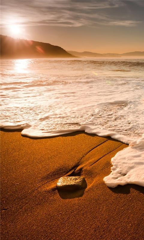 Morning waves Windows Phone Wallpaper