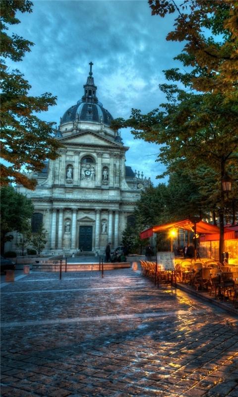 France streetscape Windows Phone Wallpaper