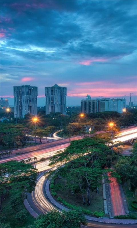 Jakarta Indonesia Windows Phone Wallpaper