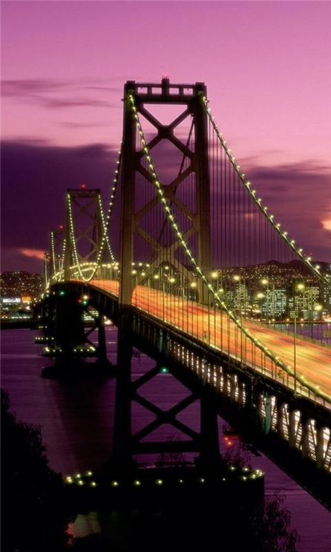 San francisco bridge california Windows Phone Wallpaper