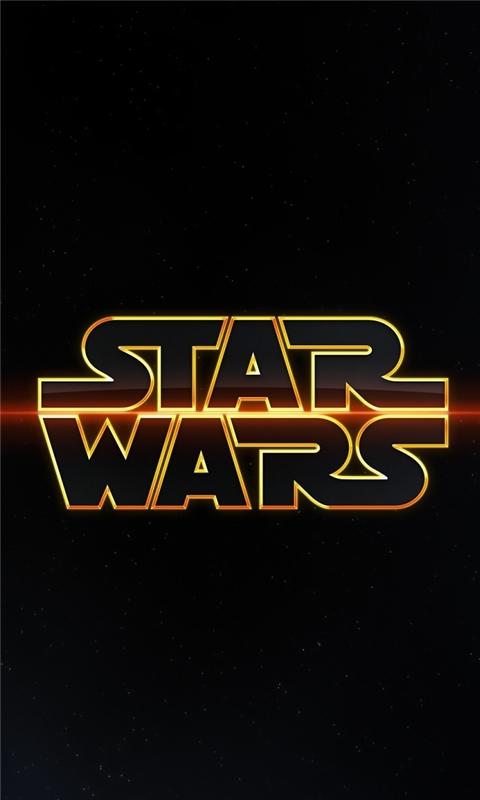 Star Wars Logo Windows Phone Wallpaper