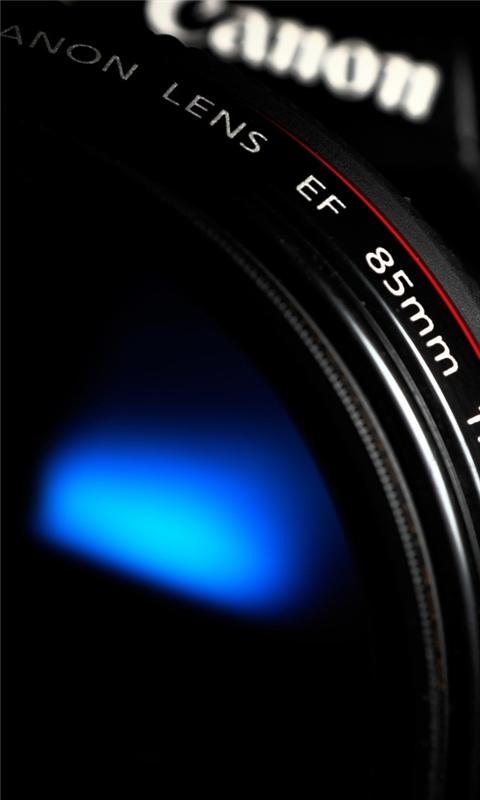 Canon Lens 2 Windows Phone Wallpaper