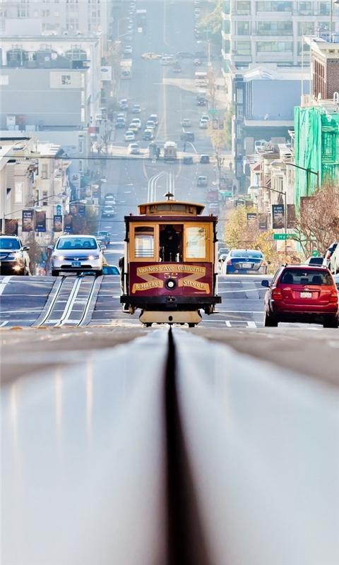 Lombard Street San Francisco Windows Phone Wallpaper