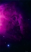 Purple Orion Nebula
