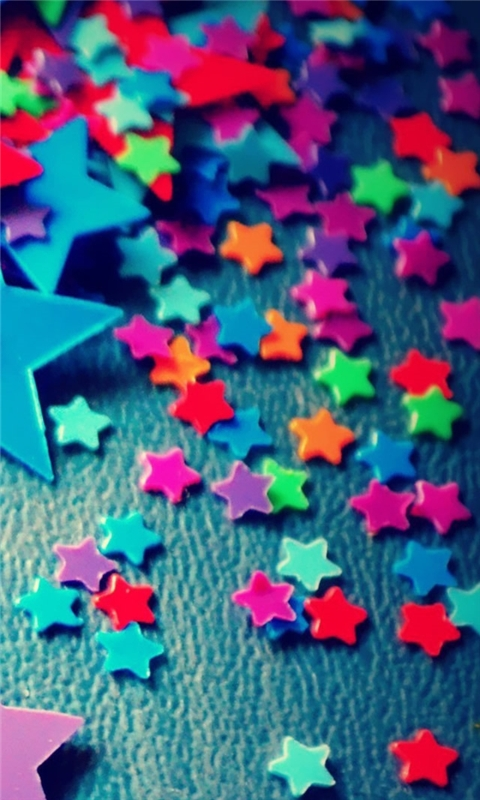 Plastic Stars Windows Phone Wallpaper