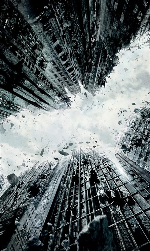 The Dark Knight Rises 2012 Windows Phone Wallpaper