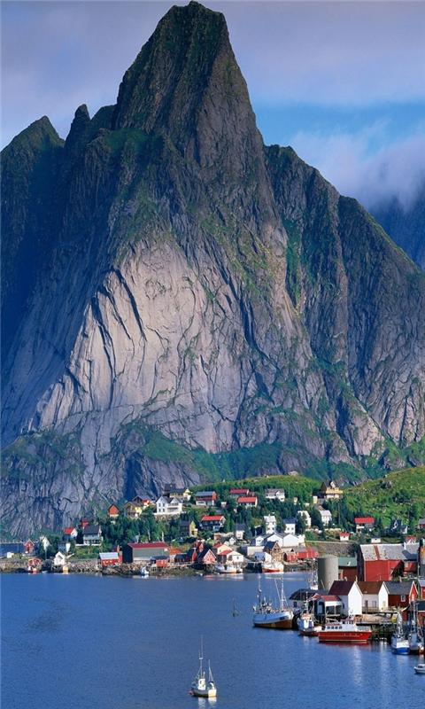 Norway scenery Windows Phone Wallpaper