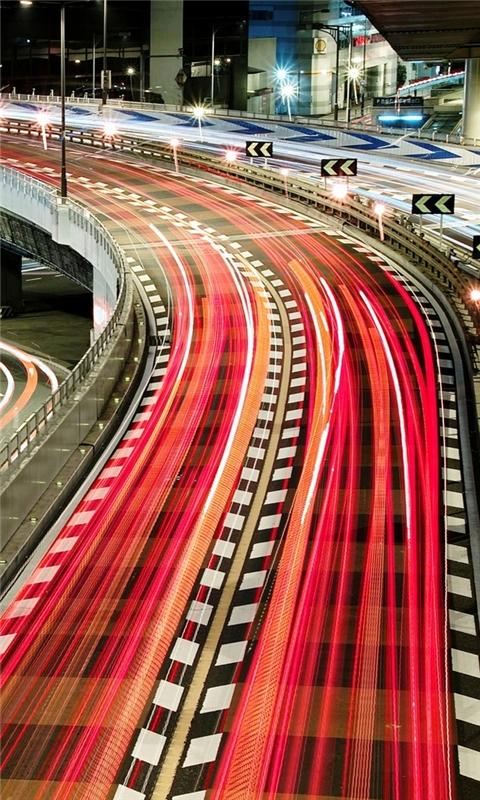 Japan City Bridge Windows Phone Wallpaper