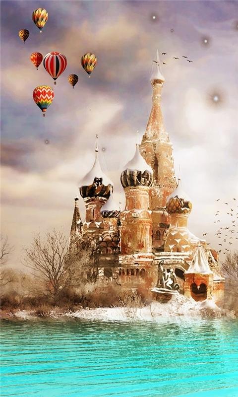 Moscow Dreamland Windows Phone Wallpaper