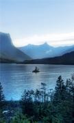Morning at glacier national park