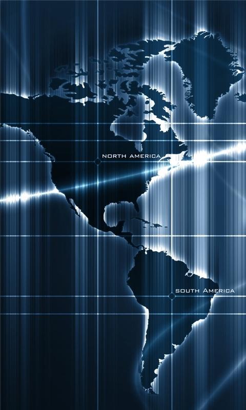 Sensor Deep Map Windows Phone Wallpaper