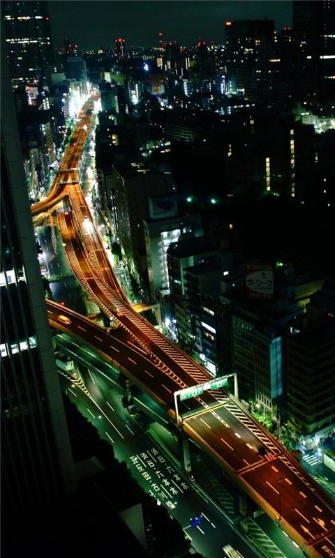 Tokyo Nights Windows Phone Wallpaper