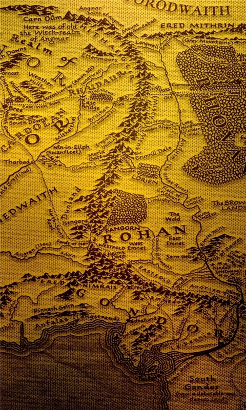 The Realm Of Middle Earth Windows Phone Wallpaper