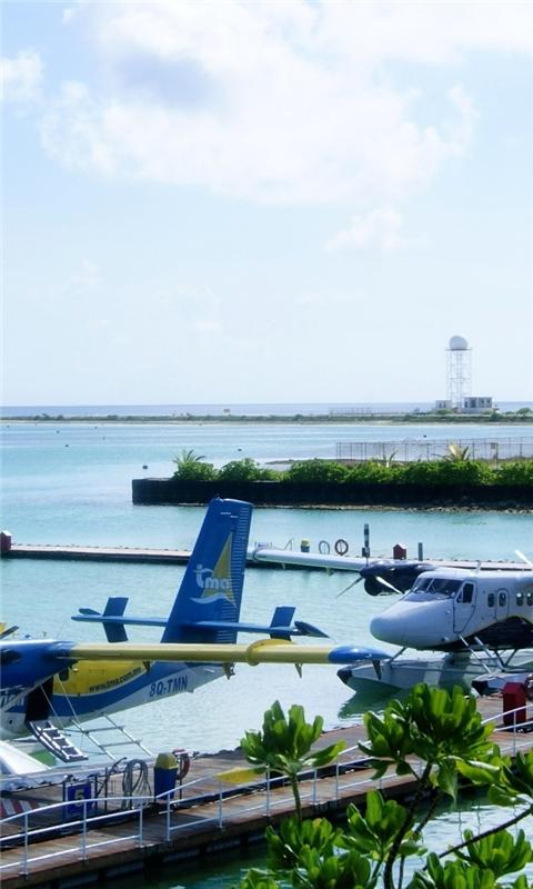 Maldives Airport Windows Phone Wallpaper