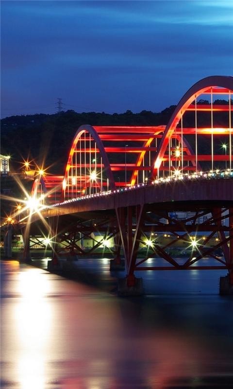 Guandu Bridge Taiwan Windows Phone Wallpaper
