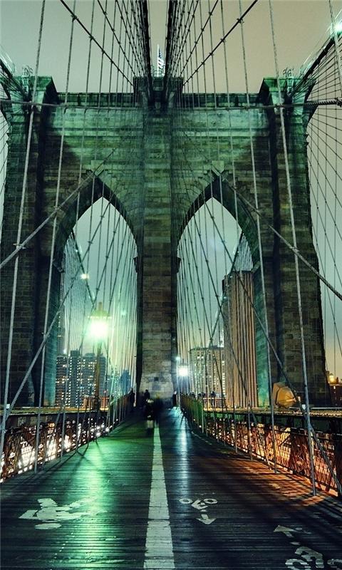 Brooklyn Bridge Windows Phone Wallpaper