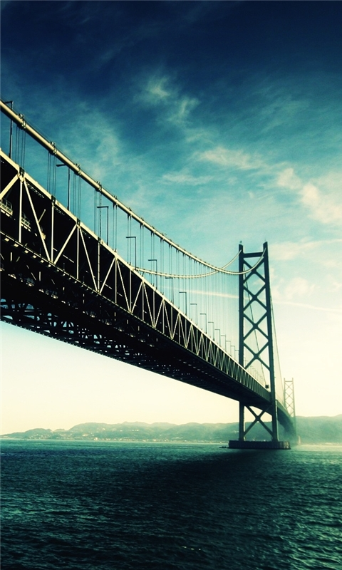 The Golden Gate Windows Phone Wallpaper