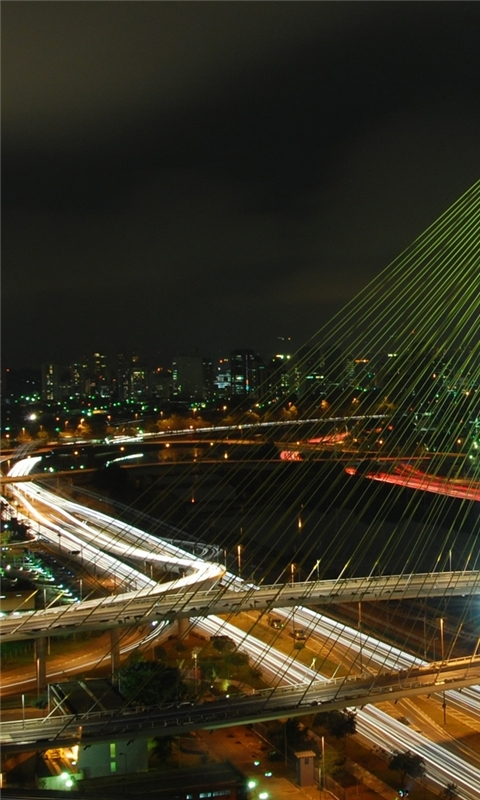 Octavio Frias De Oliveira Bridge Windows Phone Wallpaper
