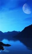 Amazing Blue Landscape