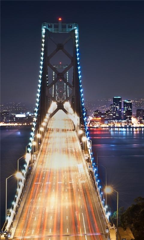 San Francisco At Night 3 Windows Phone Wallpaper