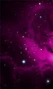 Purple Galactic Cloud
