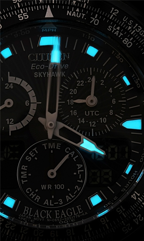 Citizen Wristwatch Windows Phone Wallpaper